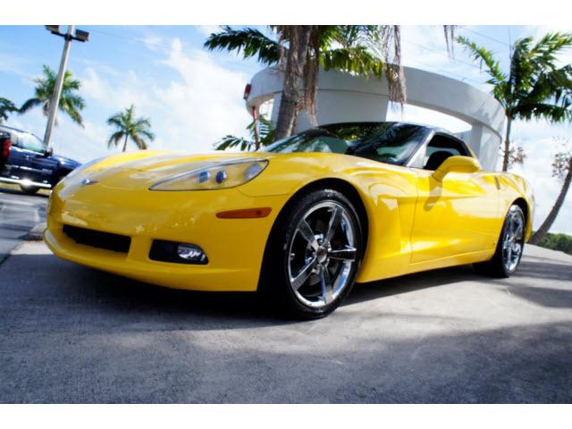 2008 Chevrolet Corvette 2 DR CPE